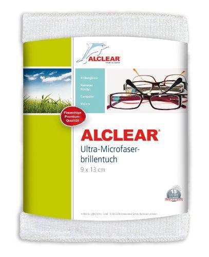 ALCLEAR Ultra-Microfaser Brillentuch klein 9x13 cm weiß