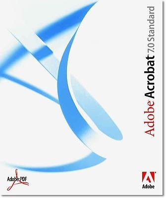 Adobe acrobat 7.0 - version Standard