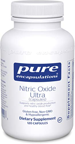 Pure Encapsulations - Nitric Oxide Ultra (Capsules) - Hypoallergenic Supplement Supports Nitric...
