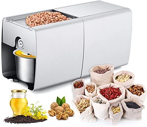 Ölpresse Automatische Ölmühle Samen Maschine für Kerne Nüsse Samen Oliven