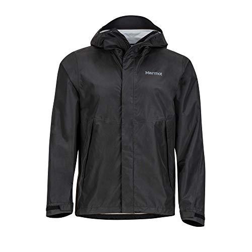 Marmot Herren Phoenix Hardshell Regenjacke, Winddicht, Wasserdicht, Atmungsaktiv, Black, XL