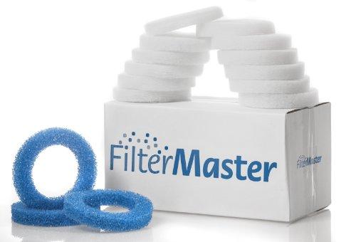 Filtermaster Aquarium-Wasserfilter BigPack Set 3 | Filter für EHEIM Ecco Pro, Ecco, Ecco Comfort | Filterring & Filtervlies