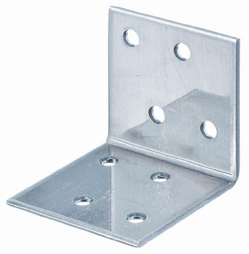 GAH-Alberts 361020 Winkelverbinder, Edelstahl, 40 x 40 x 40 mm / 25 Stück