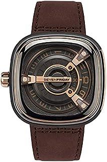 SEVENFRIDAY Swiss Watch Seven Friday Men's Watch Industrial Elements M Series Belt Mechanical Men's Watch M2/02