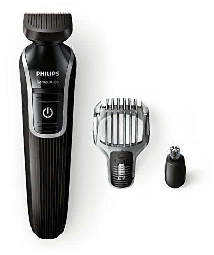 Philips QG3320/15 - Recortador de barba y precisión 3 en 1, color...