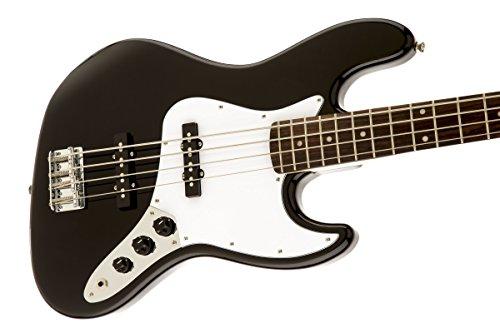 Squier by Fender Affinity Series Jazz Bass - Laurel Fingerboard - Black