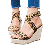 Immagine 2 tomwell sandali donna moda leopardo