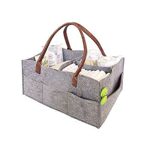 Sac à Couches for bébé en Feutre Grande capacité de Stockage Out Bag Mummy Bag