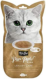 Kit-Cat Purr Puree Plus Urinary Care Tuna 4x15g