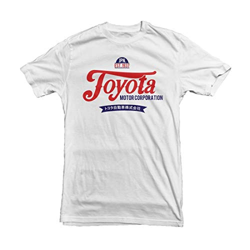RWYZTX® Toyota Motor Company Men's Car T-Shirt