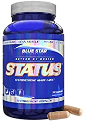 RESEARCHED TESTOSTERONE SUPPORT - STATUS utilizes a novel, science backed formula that was designed to boost testosterone with a myriad of clinically researched ingredients at efficacious doses. The result? A testosterone booster that has helped hund...
