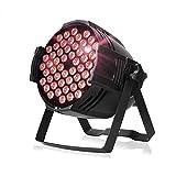 Luci Palcoscenico LED, Sararoom 100w Luci da Discoteca 54 Led 7 Faretti a Led RGB Colorati Palla Discoteca Faretto Palco Effetto Per Bar Festa Natale Casa KTV Compleanno (160w, 1pcs)