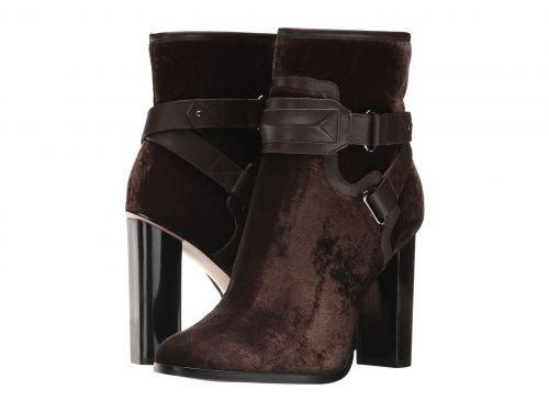 Calvin Klein(カルバンクライン) レディース 女性用 シューズ 靴 ブーツ アンクルブーツ ショート Korrie – Olive Velvet/Cow Silk 9 M [並行輸入品]
