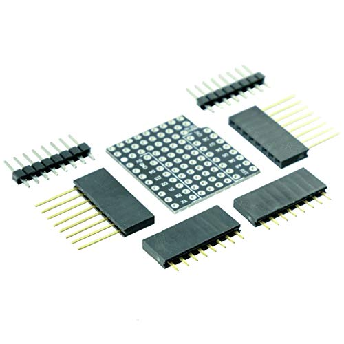 AZDelivery Prototyping Shield pour D1 Mini NodeMCU ESP8266 incluant un Ebook!