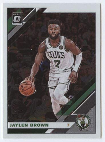 2019-20 Donruss Optic #72 Jaylen Brown Boston Celtics Basketball Card