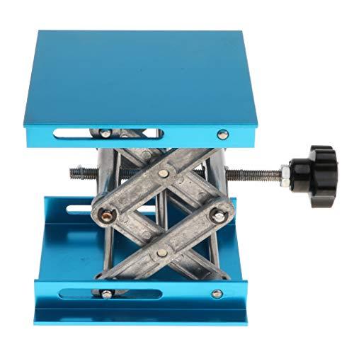 D DOLITY Plataforma Elevadora de Tijeras Soporte de Cristalería Rango de Elevación 44-150mm