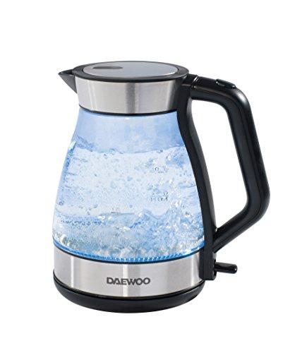 Daewoo SDA1207 Glass Kettle, 1.7 Litre, 3000 W