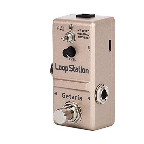 『Getaria Looper Station Effect Pedal ルーパー USB ギターエフェクトペダル 無制限 10分録音 トゥルーバイパス』の2枚目の画像