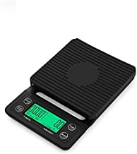 Digital Coffee Scale with Timer- Baking Table Weighting V60 Drip Coffee Mini Digital Electronic Kitchen Scale with Timer 0...