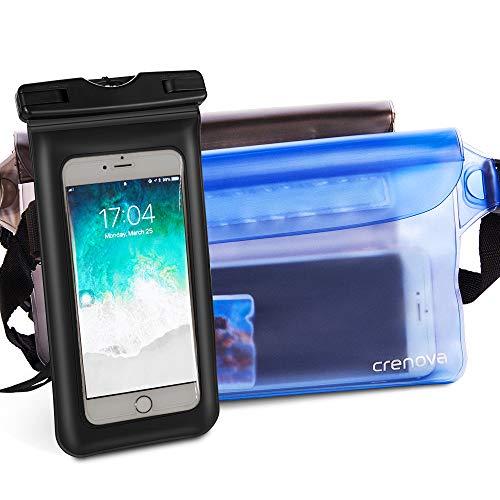Crenova Waterproof Pouch, Super Lightweight Dry Bag and Sandproof Case Bag