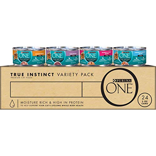 Purina ONE Natural, High Protein Wet Cat Food Variety Pack   Chewy