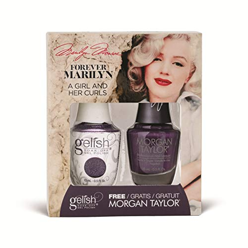 Harmony Gelish - Two of a Kind - Forever Marilyn Fall 2019 Collection - A Girl And Her Curls - 15ml / 0.5oz