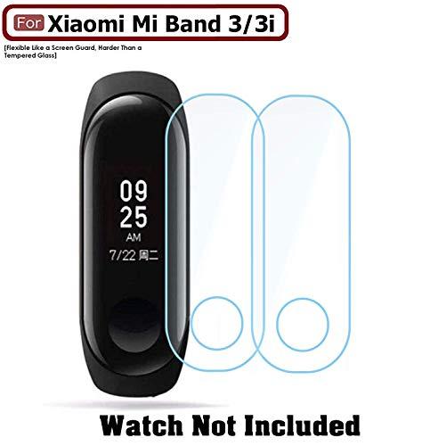 ACUTAS® Screen Scratch Guard Protector Film for Xiaomi Mi Band 3 / Mi Smart Band 3i (Pack of 2)