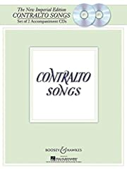 Contralto Songs (2 CDs) Pages: 8 Instrumentation: Vocal