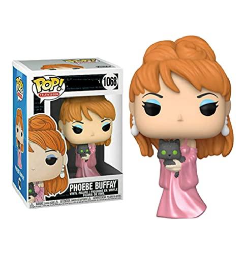 QIYV Funko Pop Movie Friends Kawaii Q Versión Nendoroid Figura De Anime Phoebe Buffy 1068 # Figuras De Acción De Vinilo Pop En Caja De Juguete De 10 Cm, Regalos De Cumpleaños para Niños