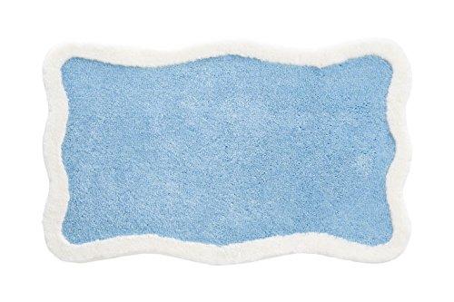 Grund Designer Series Accent/Bath Rug,Tutti, 21-Inch by 34-Inch, Blue
