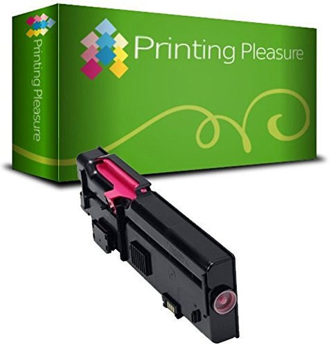 Compatible Dell C2660/C2665 Toner Cartridge for Dell C2660DN C2660DNF C2660N C2665DN C2665DNF - Magenta, High Yield