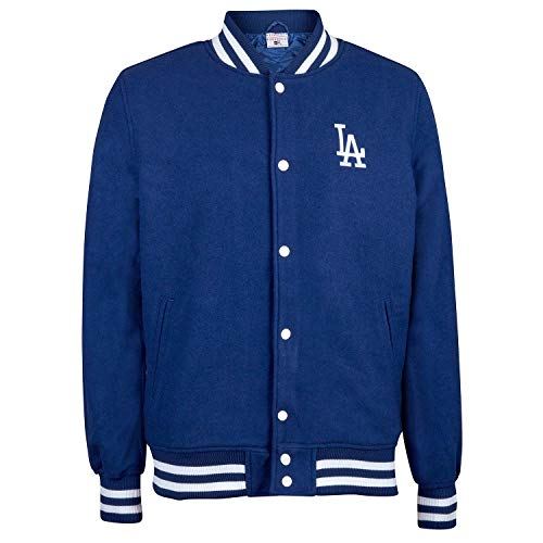 New Era Los Angeles Dodgers Team Apparel Varsity MLB Jacke Blau, S