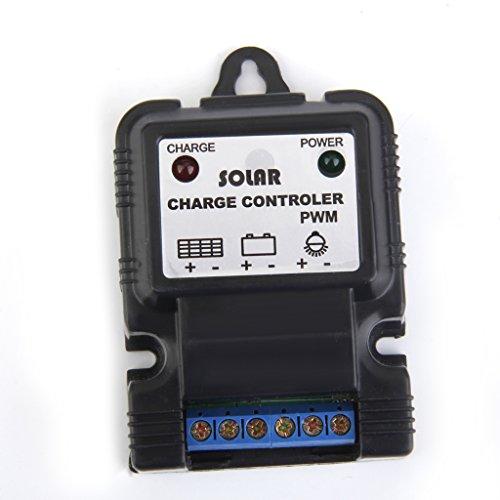 Panneau Solaire Li-ion Chargeur de Batterie Contrôleur Régulateur PWM 11.1V 3A
