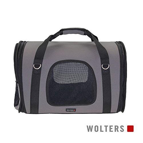 Wolters Sport-Carrier Grey Essentials grau, Größe::Large 45x25x35cm