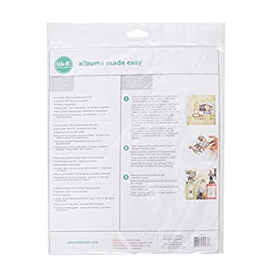 8.5 x 11-inch 3-Ring Album Page Protectors by We R Memory Keepers   10 pack