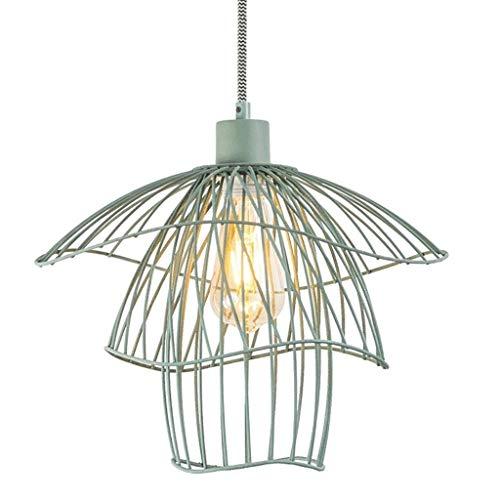 DKORP Llevada Moderna lámpara de la lámpara for Sala Comedor Cocina LED de la lámpara Iluminación (Color : Green)