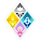Andrews Mall The Great Diamond Authority Stickers (3 Pcs/Pack)