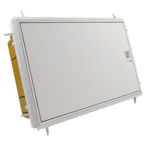 Verteilerkasten Feuchtraumverteiler IP65 12 Module Sicherungskasten Unterputz 990.12 M-L 0012