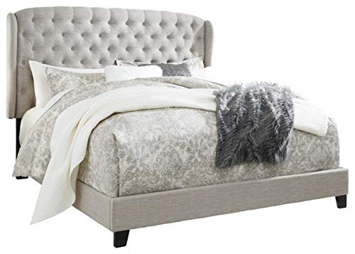 Signature Design By Ashley - Jerary King Upholstered Bed - Casual Style - Gray