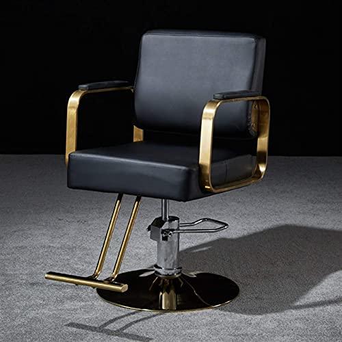 Sillón de peluquero reclinable hidráulico multiusos, sillón de peluquería con bomba hidráulica para salón de cuidado personal, sillón reclinable hidráulico de belleza y cuidado personal, equipo de ch