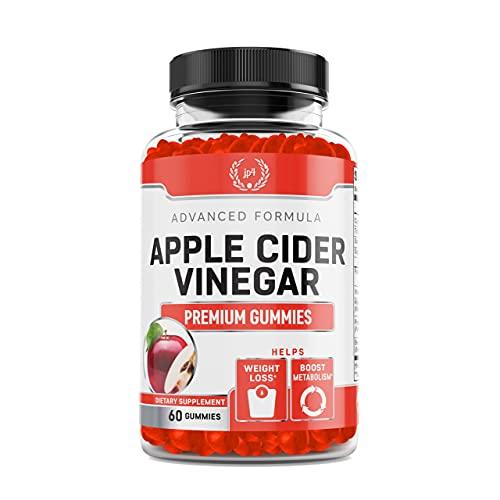 Apple Cider Vinegar Gummies is a Supplement Vitamins. it Might Helps Weight Loss, Energy Boost & Gut Health | Natural Acv (1000mg) Gummies W/ VIT B12, Beetroot & Pomegranate (60 Gummies)