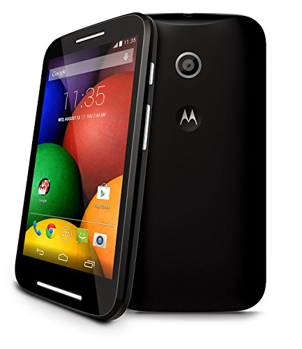 motorola DMTN5002 Moto E 4GB Black Prepaid Smartphone Cricket
