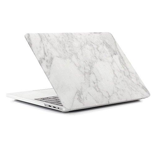 FOGEEK Funda dura con acabado mate patrón de mármol [Para Macbook Air...