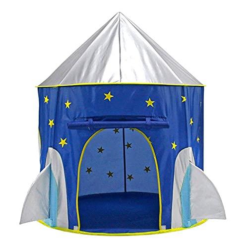 Equipo para acampar Necesidades al aire libre Salidas de primavera Carpas para acampar Carpa de juego impermeable para niños y niñas Niños Nave espacial Juguetes Astronauta Nave espacial Carpas par