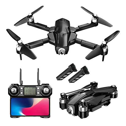 GPS Drones con la macchina fotografica per adulti, 4K HD macchina fotografica WIFI FPV Drone, motore brushless, 90°ESC Camera, 60Min (30 + 30) Tempo di volo, 1000M Distanza di telecomando, 110