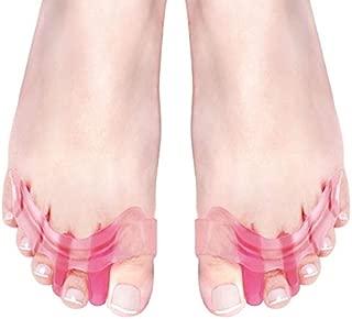 ILYPLUS Gel Toe Separator, Bunion Corrector Bunion Splint Hammer Toe Straightener Hallux Valgus Pain Relief Toe Separators Pedicure