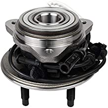 Autoround 515003 (4x4) Front Wheel Hub and Bearing Assembly Replacement for Ford Explorer, Ranger, Mercury Mountaineer, Mazda B3000, B4000