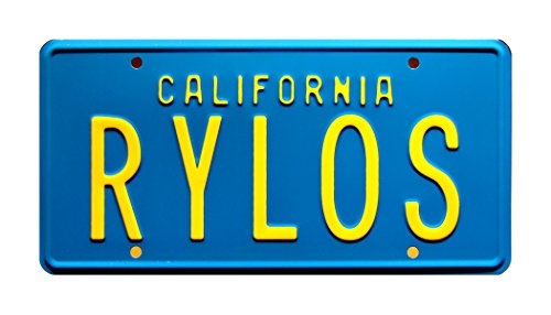 The Last Starfighter | RYLOS | Metal Stamped License Plate