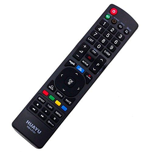 Mando a Distancia de Repuesto Adecuado para LG 32LV2500 37LH5010ZD LCD/LED TV Remote con Conexión PreProgramada Uno a Uno - Función de Arranque Fácil - sin Instalación Molesta