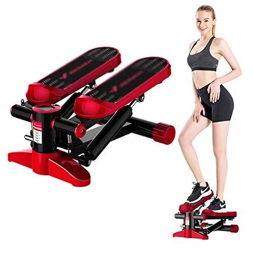 Fantastic Deal! Home Fitness Stepper Silent Mini Stepper Step Exercise Stepper Female Cross-Trainer ...